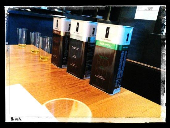 Hotel Mas la Boella: Cata de aceites