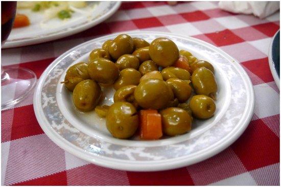 Xaica Restaurant : Olives