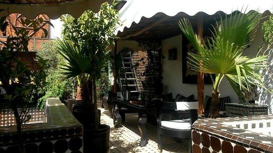 Riad Dar Najat: terrase