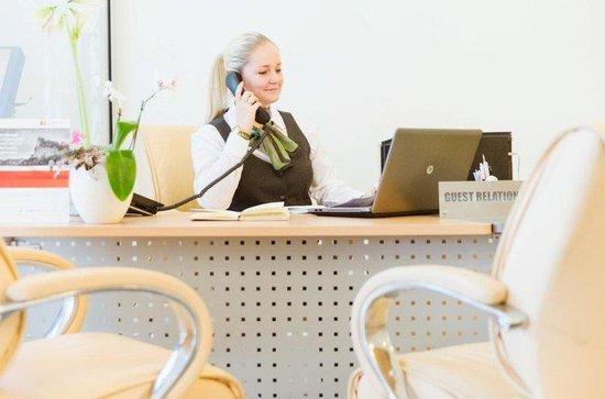 Holiday Inn Moscow-Simonovsky: Concierge