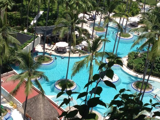 The Westin Resort & Spa Puerto Vallarta: View of adult pool