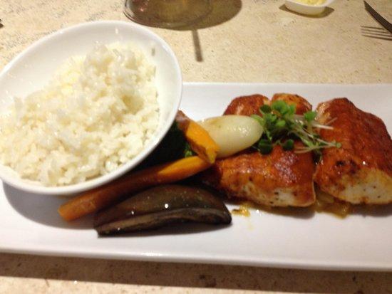 The Westin Resort & Spa Puerto Vallarta: Red Fish with sauce