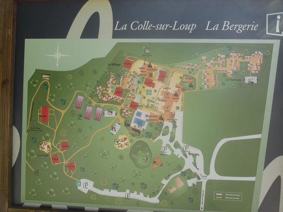 La Colle sur Loup, France: le plan