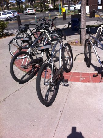 Franciscan Inn : Всю санта-Барбару на велосипеде