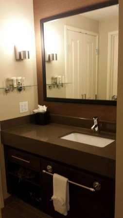 Homewood Suites by Hilton Springfield: Sink area