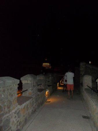 Castillo de Sant'Angelo: walking through the tunels
