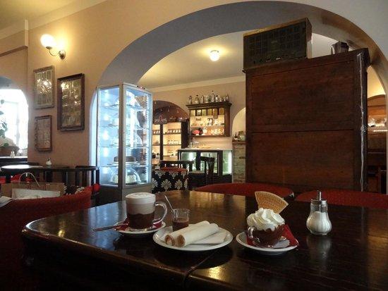 Choco Cafe U Cervene Zidle : Choco café