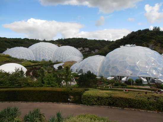 Eden Project: The Biomes.