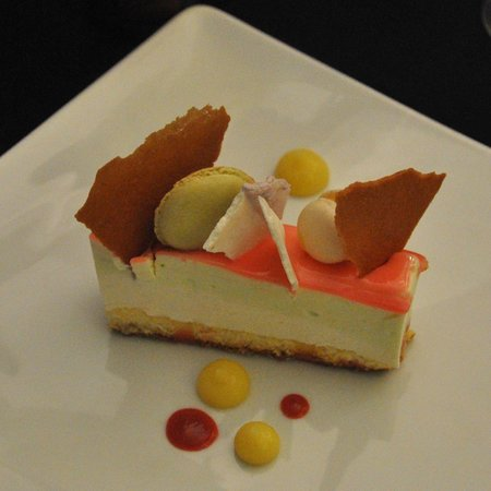 Le 5: Dessert citron / framboise