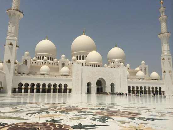 Scheich-Zayid-Moschee: Grande Mosquée