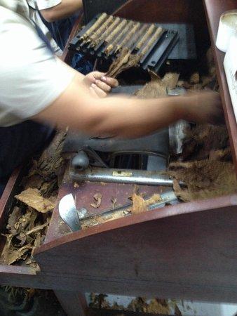 La Aurora Cigar Factory: Realizzazione di un sigaro