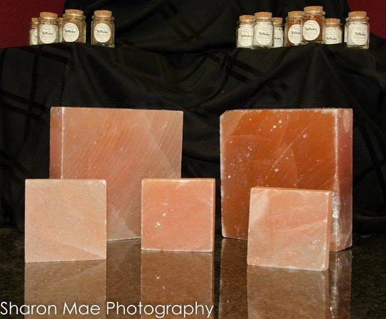 Auburn Wine and Caviar Company : Salt Blocks