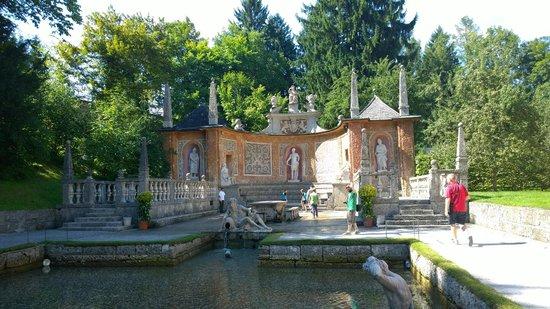 Schloss Hellbrunn: Fontana stile romano