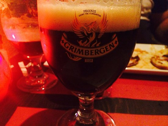 Ribs 'n Beer: And they had Grimbergen.
