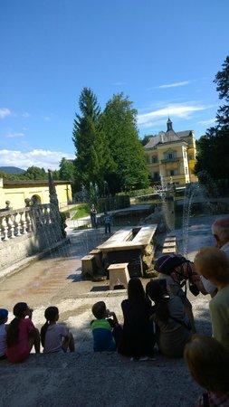 Schloss Hellbrunn: Giochi d'acqua