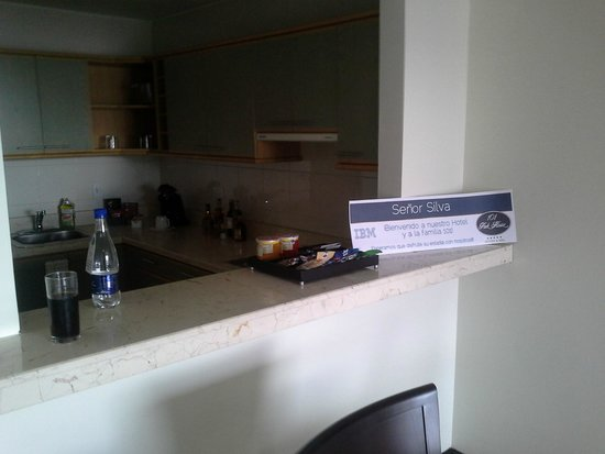 101 Park House: Kitchen bar