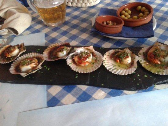 Restaurant La Sirena: Zamburiñas