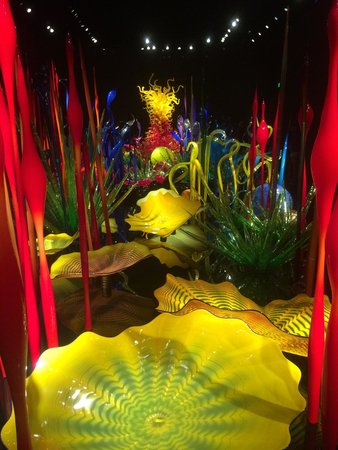 Jardín y cristal Chihuly: The inside displays will blow you away