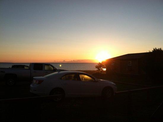 Pictou Lodge Beachfront Resort : A beautiful sunrise