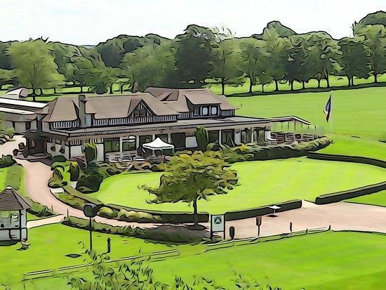 Hotel Barriere L'Hotel du Golf Deauville: belle vue sur le golf