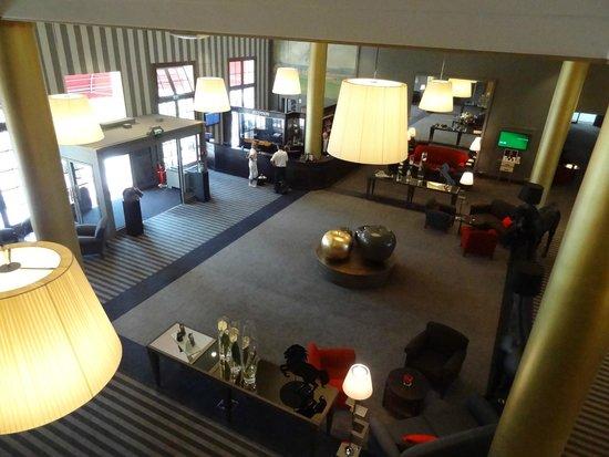 Hôtel Barrière L'Hôtel du Golf Deauville : hall d'entrée grandiose