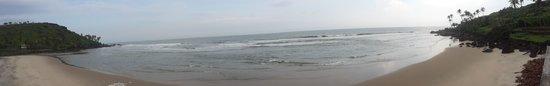 Khavane Beach: Panoramic view of the beach