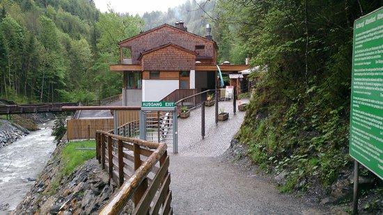 Liechtensteinklamm  - вход и выход