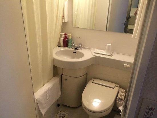 Meitetsu Inn Nagoya Nishiki : 洗面、トイレ