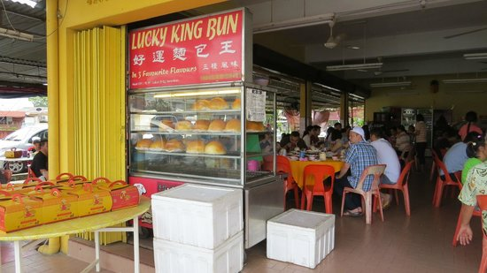 Lucky King Bun : Curry Bun comes in 3 favourite flavours.