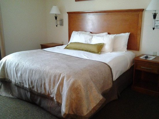 Candlewood Suites New Iberia: King Bed in Suite