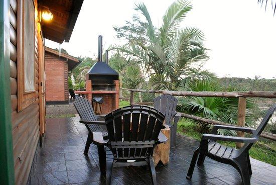 Costa del Sol Iguazu: Parrilla, le hemos usado mucho.
