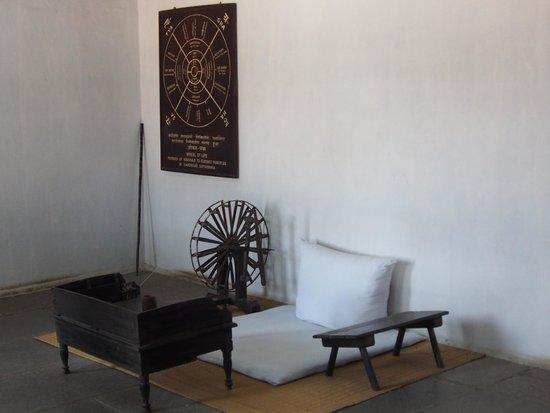 Sabarmati Ashram / Mahatma Gandhi's Home: Gandhi's Room