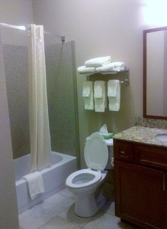 Candlewood Suites Georgetown: Guest Bathroom