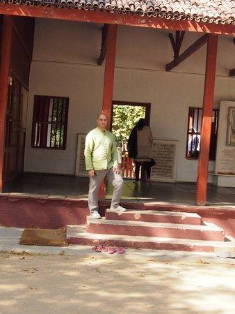 Sabarmati Ashram / Mahatma Gandhi's Home: Outside his home