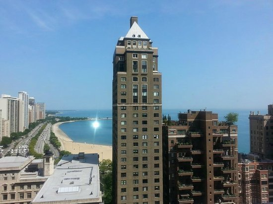 The Westin Michigan Avenue Chicago : view from our room
