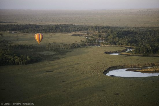 Governors' Camps Hot Air Ballooning: Governors' Balloon Safaris' flight path is famous for a reason...!