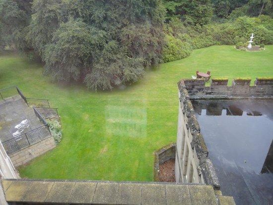Newton Hotel: rear garden