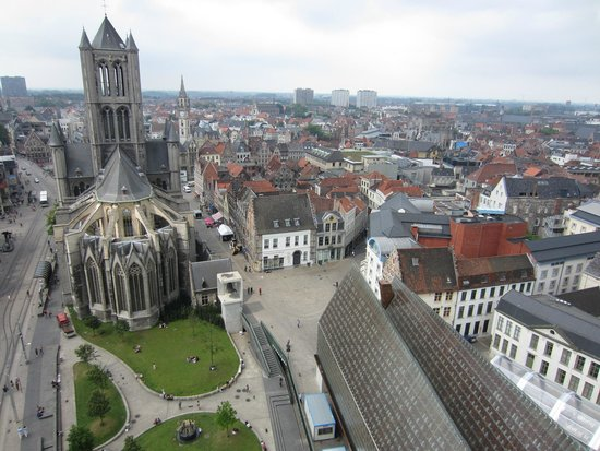 Ghent City Center: As viewed from the Belfry