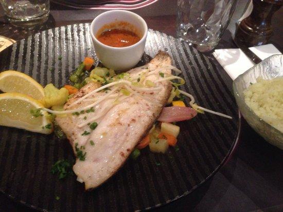 La Terrasse: Filet de bar saveur basilic