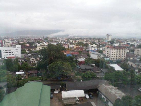 Le Meridien Chiang Mai: panorama dalla mia stanza