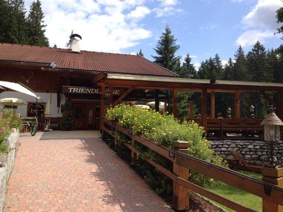 Waldgasthaus Triendlsäge: Triendlsage front