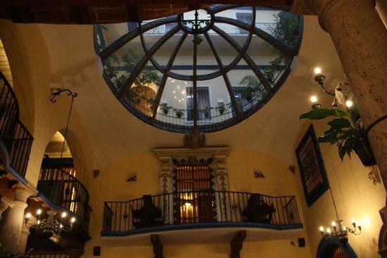 Hotel Colonial de Puebla: Desde el comedor