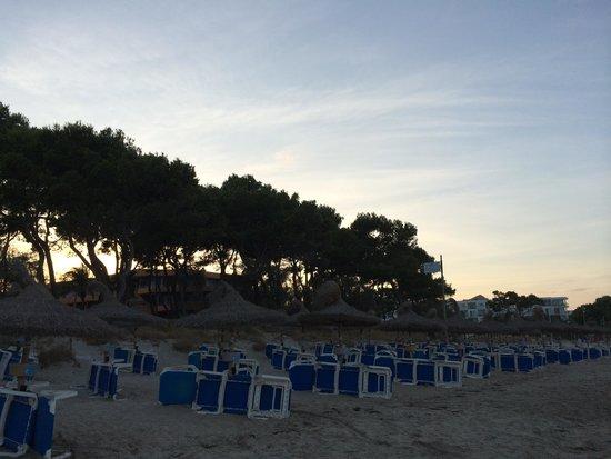 IBEROSTAR Playa de Muro: Spiaggia non riservata ai clienti e a pagamento