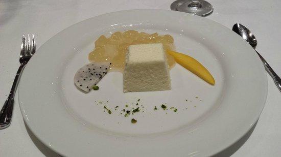 Vier Jahreszeiten am Schluchsee: Dessert menu du soir au Panorama