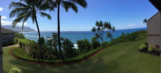 Marc at Princeville Pali Ke Kua: Gorgeous view from #209