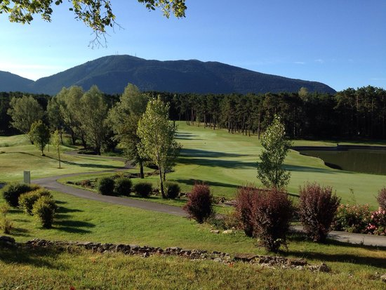 Le Chateau de Taulane: Golf (aout 2014)