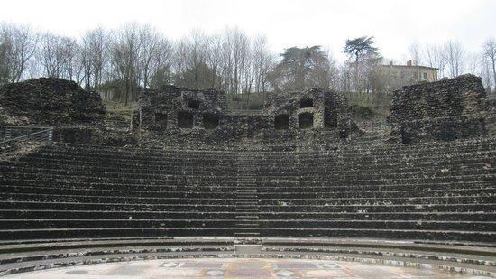 Théâtres Romains de Fourvière : Aspecto del recinto