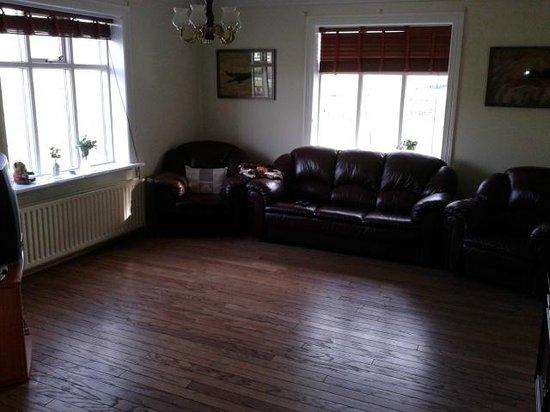 Hrafnagil Guesthouse : Living room