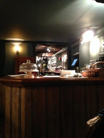 The Woolpack Restaurant: restaurant