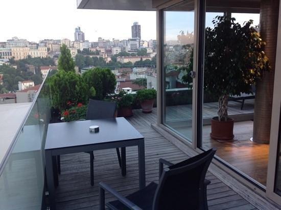 Witt Istanbul Suites: balcony